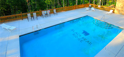 Black Bear Ridge Resort Pool - Pigeon Forge, Tennessee
